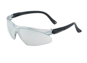 Jackson Safety Visio Safety Glasses with Black Frame & Clear Lens J14470