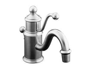 Kohler Antique™ 1-Hole Deckmount Lavatory Faucet with Single Lever Handle K139