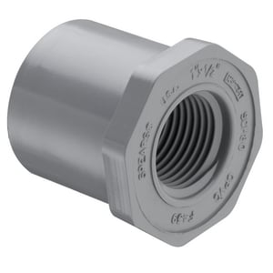 Slip x Female Schedule 80 CPVC Bushing S838C