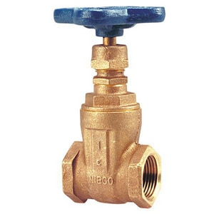 Nibco T-113 125# Bronze Threaded Non-Rising Stem Gate Valve NT113