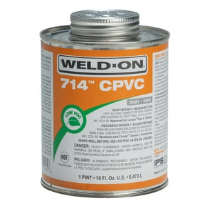 Weld-On CPVC Heavy Duty Cement in Grey I1013