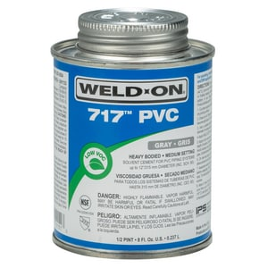 Weld-On PVC Heavy Duty Cement in Grey I101
