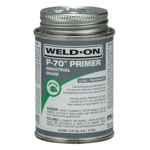 Weld-On PVC Primer in Clear I1022