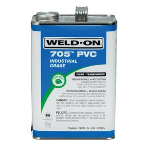 Weld-On 1 gal. PVC Medium Body Cement in Clear IPS10085