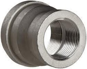 Threaded 150# 316 Stainless Steel Coupling IS6CTCSP114FA