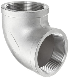 150# 316L Stainless Steel Threaded 90 Degree Elbow IS6CT9SP114