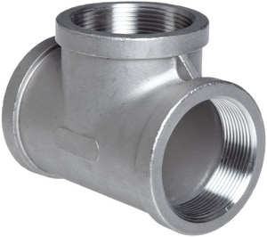 150# 316L Stainless Steel Threaded Tee IS6CTTSP114