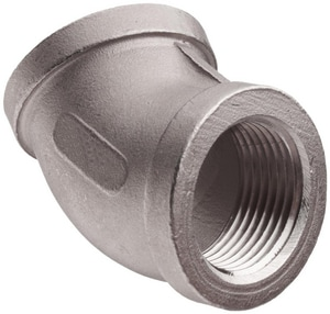 Threaded 150# 316 Stainless Steel 45 Degree Elbow IS6CT4SP114