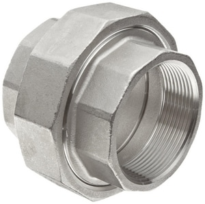 150# Threaded 316L Stainless Steel Union IS6CTUSP114
