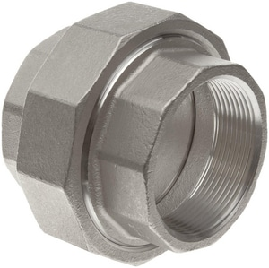 150# Threaded 304L Stainless Steel Union IS4CTUSP114