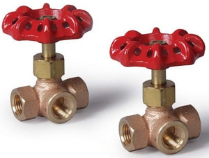 Fire Protection Products 3-Way Brass Valve F0660000
