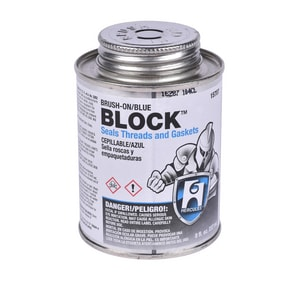 Hercules Chemical Block™ 1/2 pt. 24-Package Thread Sealant Blue H15707