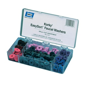 Lavelle Industries EasySort® Assorted Flat Master Washer Kit L189