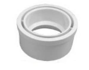 Genova Products 600 Series Spigot x Hub Reducing and DWV Schedule 30 PVC Bushing G602