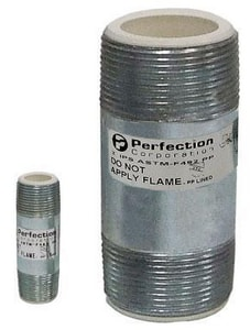 Precision Plumbing Products Thread x Thread Dielectric Nipple P19185