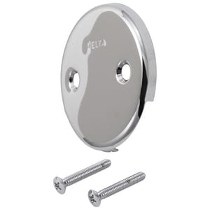 Delta Faucet Classic® Overflow Plate and Screw DRP31556