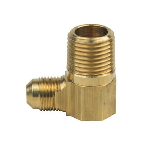 Brass Craft Flared x MIP 90 Degree Elbow B4968