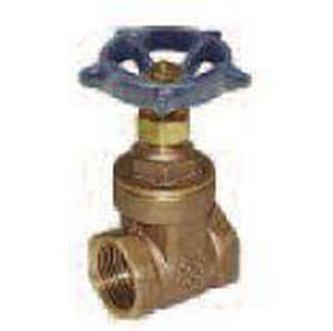 Legend Valve & Fitting 125# Bronze FNPT Non-Rising Valve Stem Screw-In Bonnet Gate Valve L10450