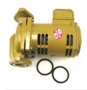 ITT-Bell & Gossett 3/4 in. 1/6 hp 40 gpm Cast Iron Less Flange Booster Pump B1BL001