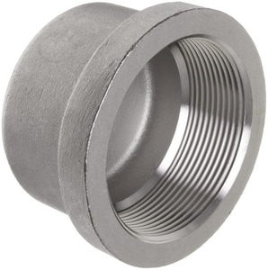 1000# Threaded Stainless Steel Cap IS6BSTCAP1MSP114