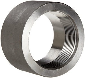 Threaded 1000# 316L Stainless Steel Half Coupling IS6BSTHC1MSP114