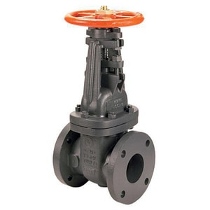 Nibco Cast Iron Flanged Pre-Grooved Bolted Bonnet Outside Stem and Yoke Gate Valve NF607OTS