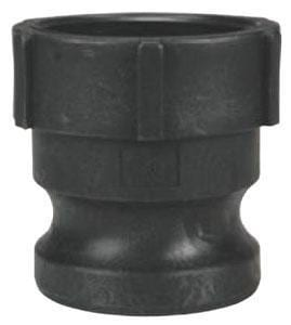 Dixon Valve & Coupling 3 in. Male x FNPT Straight Polypropylene Quick Connect Adapter DPPA300 at Pollardwater