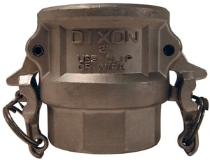 Dixon Valve & Coupling Female x FNPT Stainless Steel Grooved Coupling DRDEZ