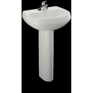 Kohler Wellworth® 1-Hole Bathroom Rectangular Lavatory Sink K2293-1