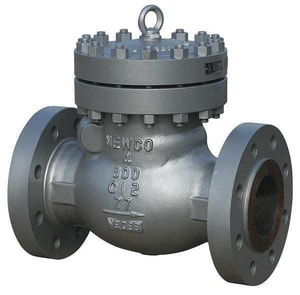 Newco Valves 300# Carbon Steel Flanged Trim Swing Check Valve N33FCB2