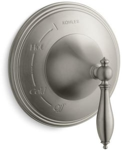 Kohler Finial® Pressure Balancing Valve Trim with Single Lever Handle KT309-4M