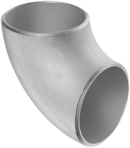 Core Pipe Products Butt Weld Schedule 10 304L Stainless Steel Short Radius 90 Degree Elbow IS14LWSR9