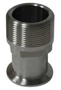 VNE Corporation Clamp x Male 304L Stainless Steel Adapter VEG214