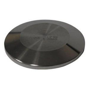 VNE Corporation Clamp 316L Stainless Steel Solid End Cap VEG16A6L
