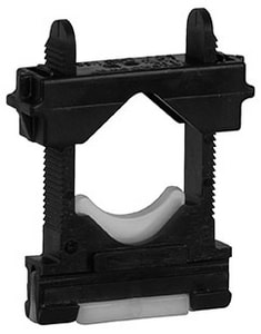 Sioux Chief UBS Touchdown Channel Clamp Only Bulk in Black S5225500