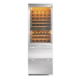 Sub Zero 5.3 CF Wine Cooler/Refrigerator With Right-Hand Glass Door S427RGRH