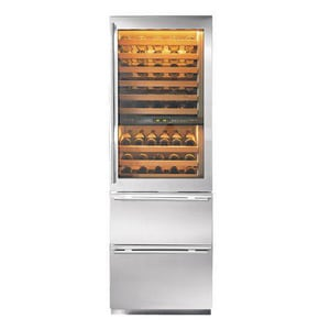 Sub Zero 5.3 CF Wine Cooler/Refrigerator With Left-Hand Glass Door S427RGLH