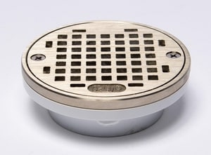 PROFLO® 2 x 3 in. PVC General Purpose Drain with Nickel Strainer Short PF42874