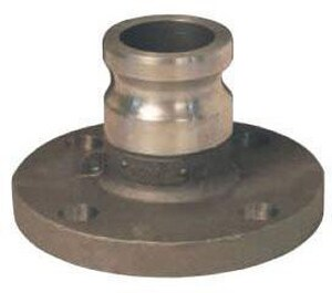 Dixon Valve & Coupling Flanged x Male 150# Drill Aluminum Adapter DALAL