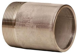 Merit Brass 1 in. Schedule 40 304L Stainless Steel Weld Threaded on End Nipple DS44NTOENG