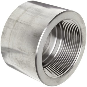 3000# Threaded 316L Stainless Steel Cap IS6L3TCAP