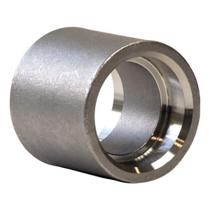 1/2 in. Socket 3000#316L Stainless Steel Half Coupling IS6L3SHCD