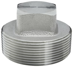 Threaded 3000# 304L Stainless Steel Square Plug IS4L3TSP