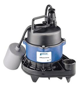 Goulds Pumps 115/230 V 1/2 hp 20 ft. Cord Effluent Pump GEP0511F