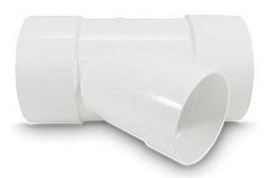 SDR 35 Solvent Weld PVC Sewer Wye MUL0403
