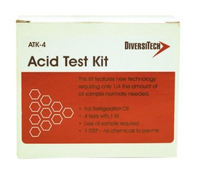 Diversitech Acid Test Kit™ Refrigerant Oil Acid Test Kit DIVATK4
