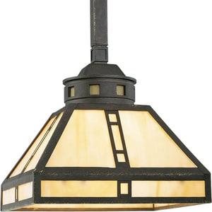 Progress Lighting Arts & Crafts 61-1/5 in. 100W 1-Light Medium Pendant PP502046