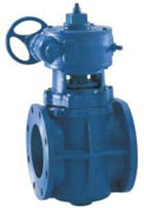 Dezurik Mechanical Joint Non Lube Plug with Gear Valve D118MJGLA