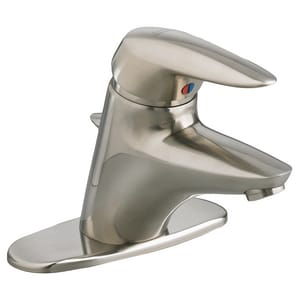 American Standard Ceramica® 1.2 gpm 1-Hole Monoblock Bathroom Faucet with Single Lever Handle A2000101X