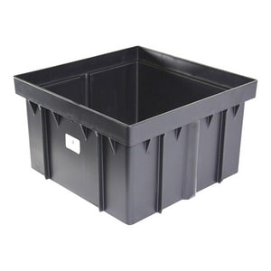 National Diversified Sales 12 x 12 x 6 in. Riser in Black N1216